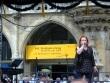 A singer at the Munich festival